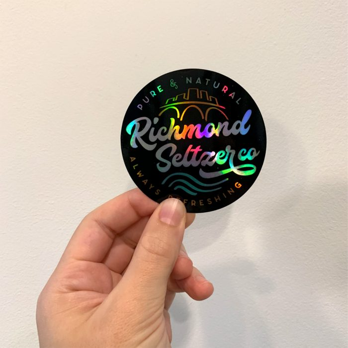 Richmond Seltzer Co sticker